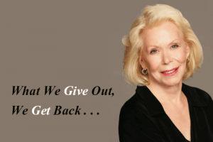 Louise-Hay-on-love-hayhouse-publishing-author-motivational-speaker-how-to-heal-your-life-selflove-love-yourself-mirror-work-louise-l-hay-commandments-on-love